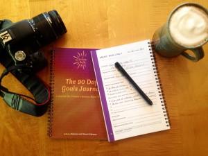 GOALS, your goals, goals journal, goal setting, iCreateDaily 90 Day Goals Journal