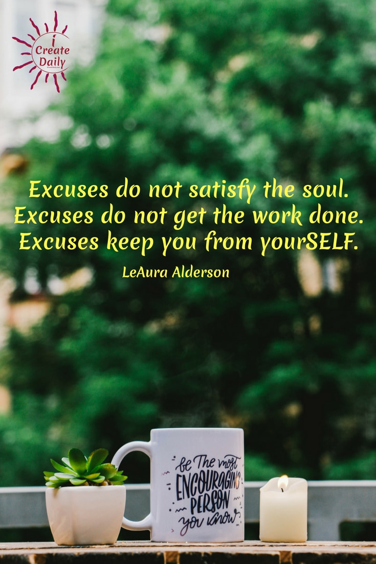 no excuses, inspirational quotes