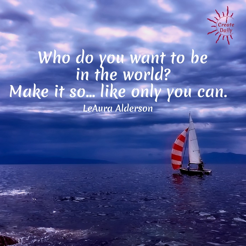 Who do you want to be in the world? Focus on what you want because what you put your attention on grows. Focus is the mental action that must be supported by subsequent physical actions toward manifesting your dreams. Make it so, like only you can. #Goals, #SettingGoals #GoalSetting #FocusOnWhatYouWant #GoalsJournal #WhatYouPutYourAttentionOnGrows