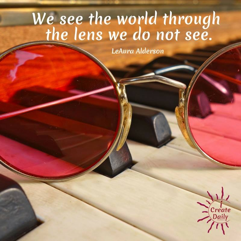 Looking Through Rose Colored Lenses - iCreateDaily
