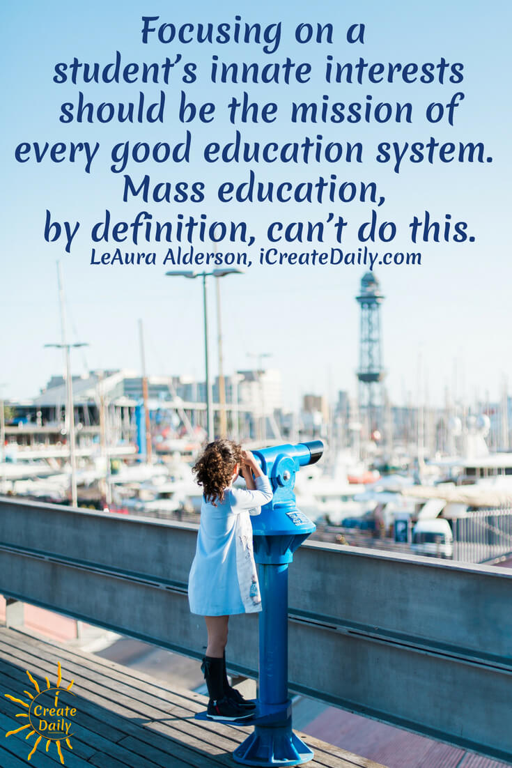 One thing is certain: focusing on a student's passions and proclivities is not a part of the current mainstream education system. In fact educating to passion and purpose is a rare thing. #passion #goals #life #Purpose #EducationQuotes #WhatAreYouPassionateAbout