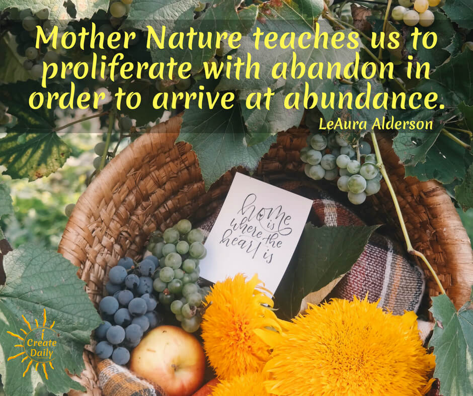 ALIGNMENT WITH NATURAL LAW - The law of abundance is an important and relevant concept for creators.#LawOfAbundance #MotherNature #LawOfAbundanceQuote #MotherNatureQuote #AbundanceQuote #Creators #iCreateDaily