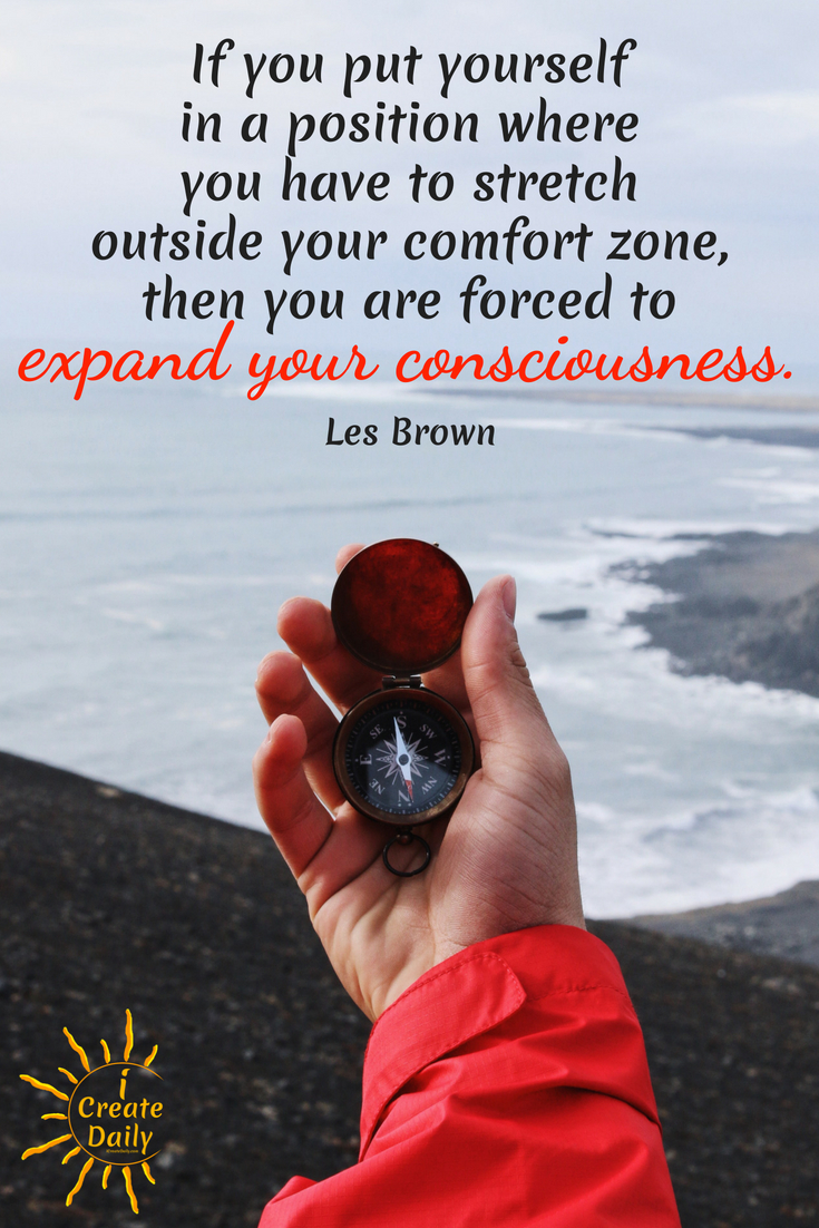 At the gym, the only way to make progress toward better physical health and fitness, is to get uncomfortable. It's the same thing with your art... with your business... with your goals. #ShipIt #JustShipIt #LesBrownQuote #ComfortZoneQuote #OutsideYourComfortZone #iCreateDaily