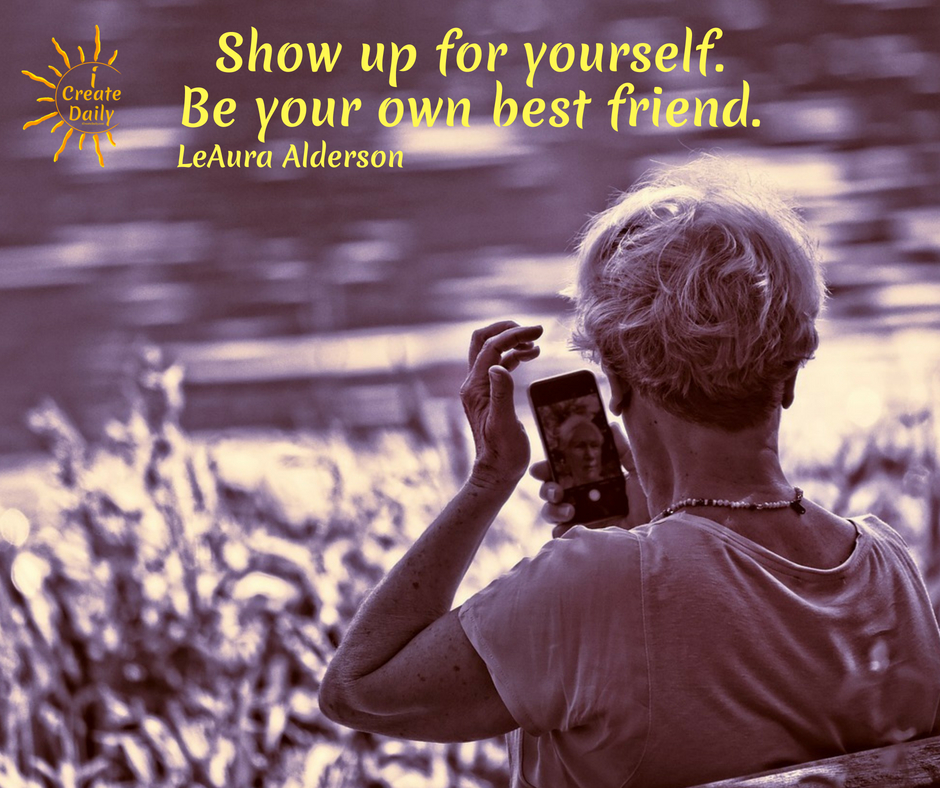SHOW UP FOR YOURSELF! THE FEAR OF NOT BEING GOOD ENOUGH... Atelophobia - fear of imperfection plagues many creators. Don't let it stop you! #Perfectionism #YourOwnBestFriend #InnerCritic #FearOfImperfection #Atelophobia