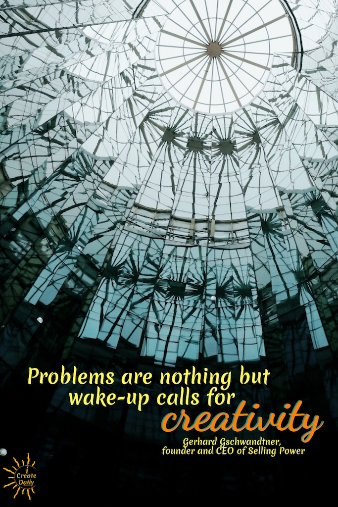 """Problems are nothing but wake-up calls for creativity."" ~Gerhard Gschwandtner, founder and CEO of Selling Power #Tips #Planner #iCreateDaily #Quotes #Cool #Beauty #Motivation #Design #ThingsToDo #Printables #Awesome #Photography #Best #Unique #Journal #Inspiration #Challenge #Skincare #Aesthetic #MorningRoutine #Ideas #Portfolio"