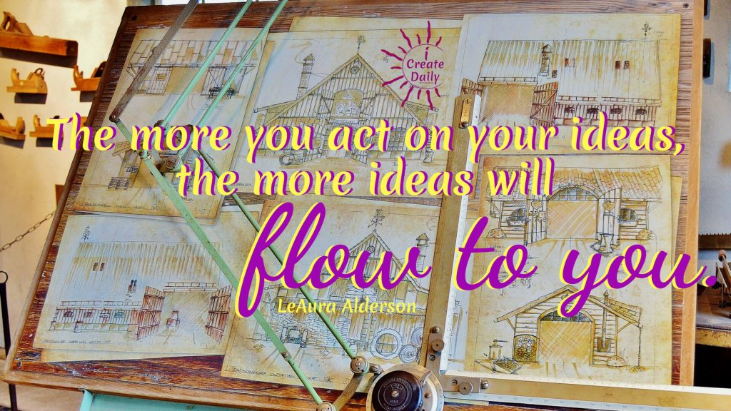 IDEATION TOOLS... Ideation tools can be complex or uber simple. You can probably guess which approach we favor. Ideas can come in a flash... a flash of inspiration, of awareness, of reflection... and they can disappear as quickly. Ideas are ephemeral entities that live in the vaporous ether that permeates, envelopes and protects life on our planet. If you're not yet in that place where ideas flow freely, we'll cover that first. #IdeationTools #Action #BringIdeasToLife #Ideation #Ideas #Creativity #CreativeIdeas #iCreateDaily