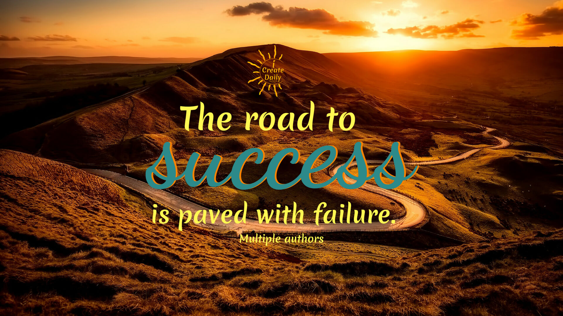 "You've heard that ""the road to success is paved with failure"", right? Do you believe it? Do you welcome failure or avoid it? If you fear failure, it's time to get over it. #quotes #success #business #creative #art"