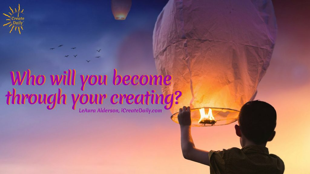 Creating Yourself - Your ultimate work of art. #ConsciousCreation #CreatingYourself #CreateYourLife #Visioning #Visionboard #Manfestation
