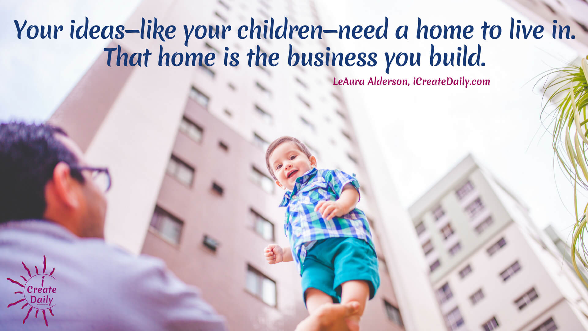 For your children to thrive you must help them to become all that they can be. Likewise for your business. For every success story, there are years of effort supporting that; most through the daily discipline of creating, learning, and engaging in the art of business. #CreaiveBusinessAdvice #CreativeBusinessIdeas #ArtBusiness #SuccessQuote #BusinessSuccess #HeartInBusiness #iCreateDaily