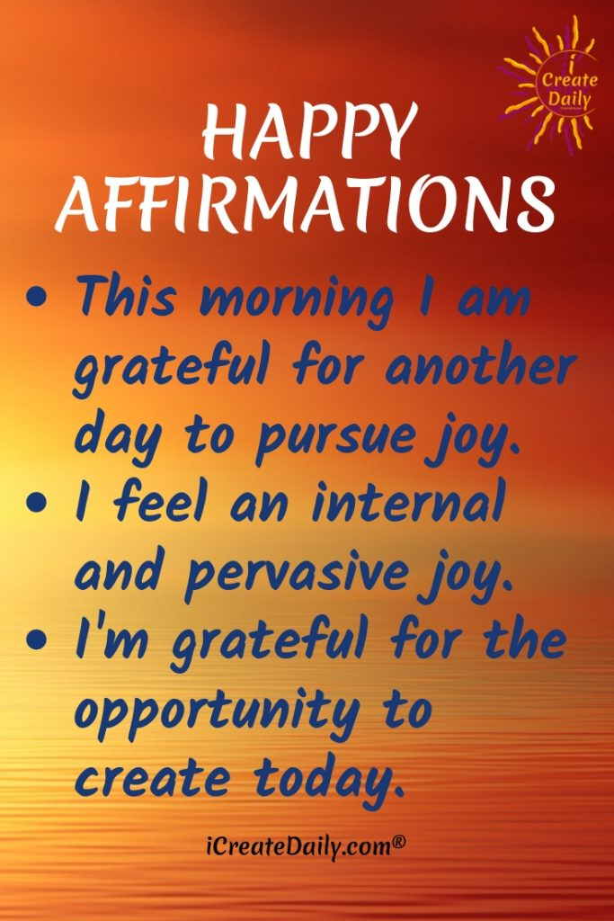 List of Positive Affirmations to Help You Succeed | iCreateDaily