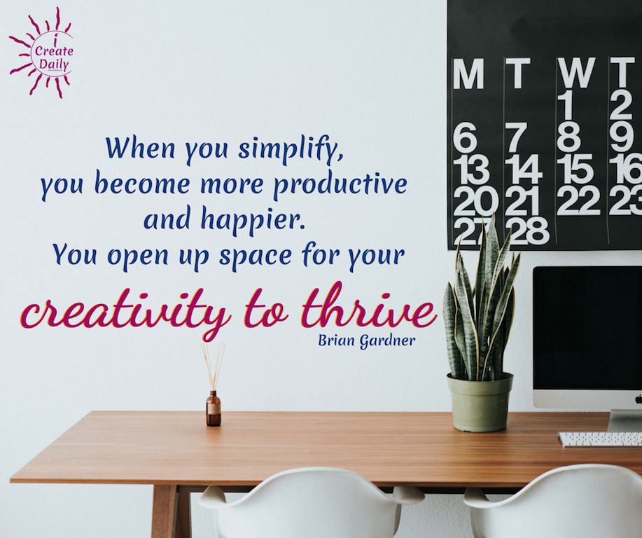 Get Organized for Greater Creativity, Productivity and Life! -- In today's digital world of easy and rapid proliferation of anything and everything, the old rules of getting organized just aren't as applicable. If you're struggling to get organized in todays era of information overload, you're not alone. In fact, you're in the majority. #quotes #creative #thrive #productive