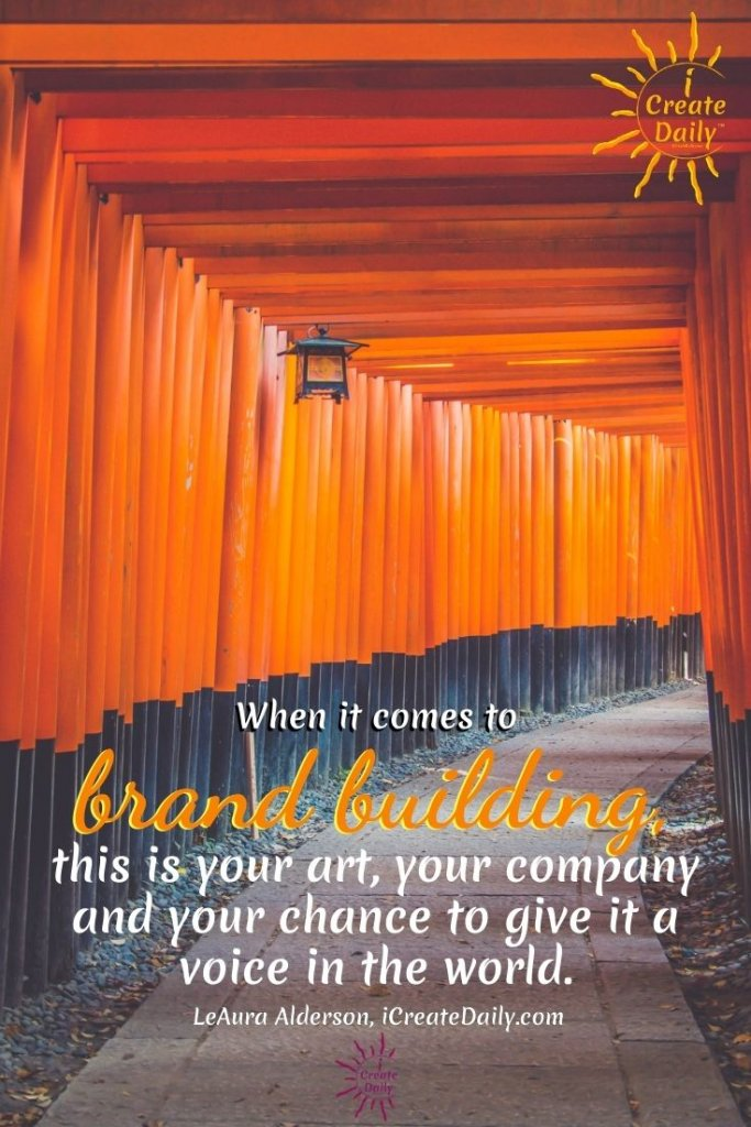 Discovering Your Why - Brand building. #BrandBuilding #YourWhy #CreativeBranding #BrandingQuotes #iCreateDaily