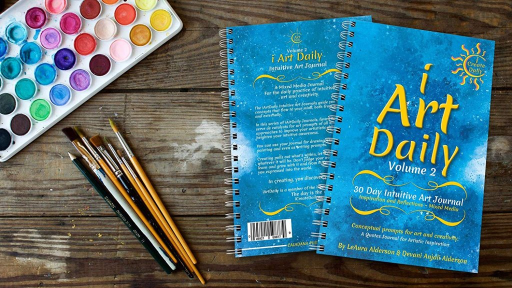 This Creativity Challenge is FREE. The only cost is to order the iArtDaily Intuitive Art Journal ~ Volume 2 #ideas #design #writing #DIY #quotes #drawings #thinking#hobbies #motivational #thoughts #GoalsJournals#GoalJournal #GoalPlanner #video