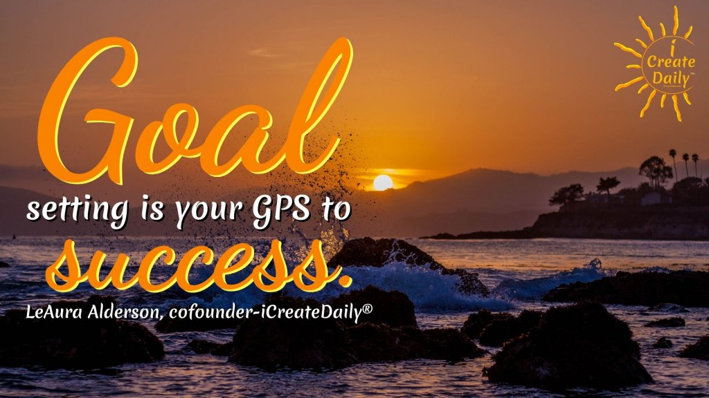 GOAL SETTING is your GPS to success. #GoalsQuote #MonthlyGoals  #SuccessQuote #GoalsPlanning #GoalsJournal #GoalsSetting #FreeGoalsJournal #FreeGoalsPDF