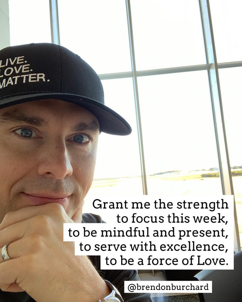 Brendon Burchard Quote & Photo, #PositiveQuotes #MotivationQuotes #BrendonBurchardQuotes