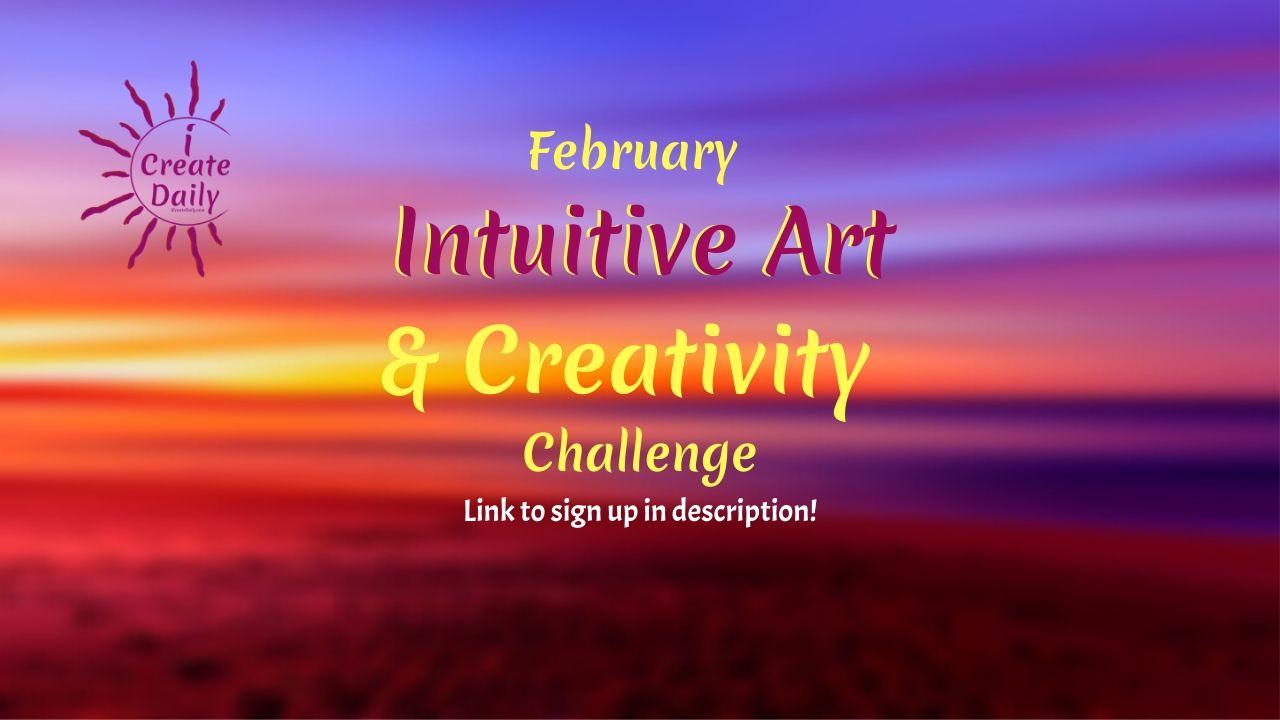 creativity challenge, 30 day art challenge