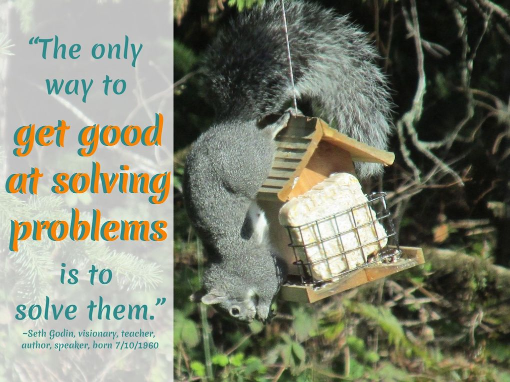 Seth Godin Quotes on How to Solve Problems: #SethGodinQuotes #ProblemsQuotes #ProblemSolving #SethGodin