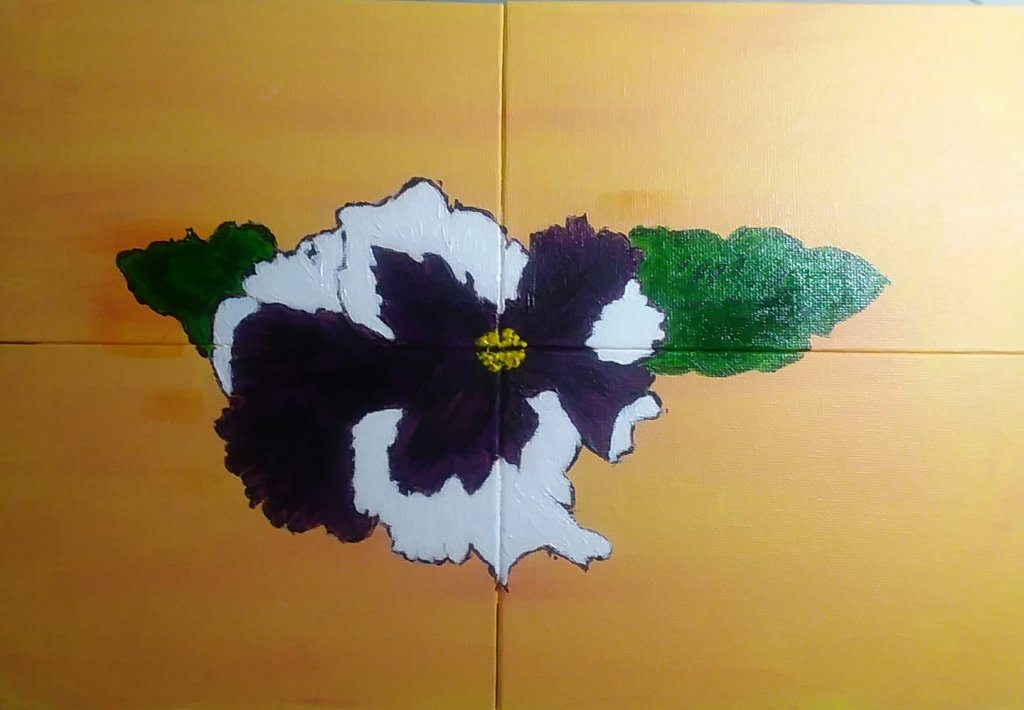 PURPLE FLOWER DRAWINGS - Purple Flowers acrylic painting by Mysty Foster #PurpleFlowers #ArtPrompt #PurpleFlowerDrawings #acryliclPurpleFlowers #MistyFoster #PurpleFlowersPainting  #iCreateDaily #iArtDaily
