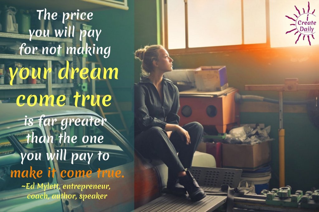 Ed Mylett Quotes on Dreams. #DreamsQuotes #EdMylettQuotes #Inspiration #Motivation #Encouragement