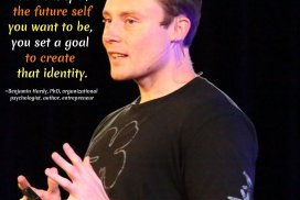 Benjamin Hardy Quotes - Author, entrepreneur, visionary, thought leader. #BenjaminHardyQuotes #Visioning #FutureSelf #Goals #SetAGoal