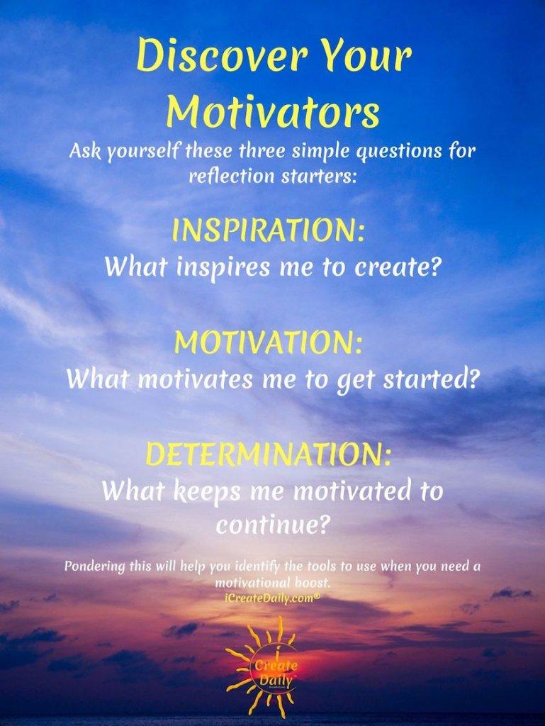 What motivates you? Discover your motivators. #IntrinsicOrExtrinsicMotivators #Motivation #WhatMotivatesYou #Inspiration #Determination