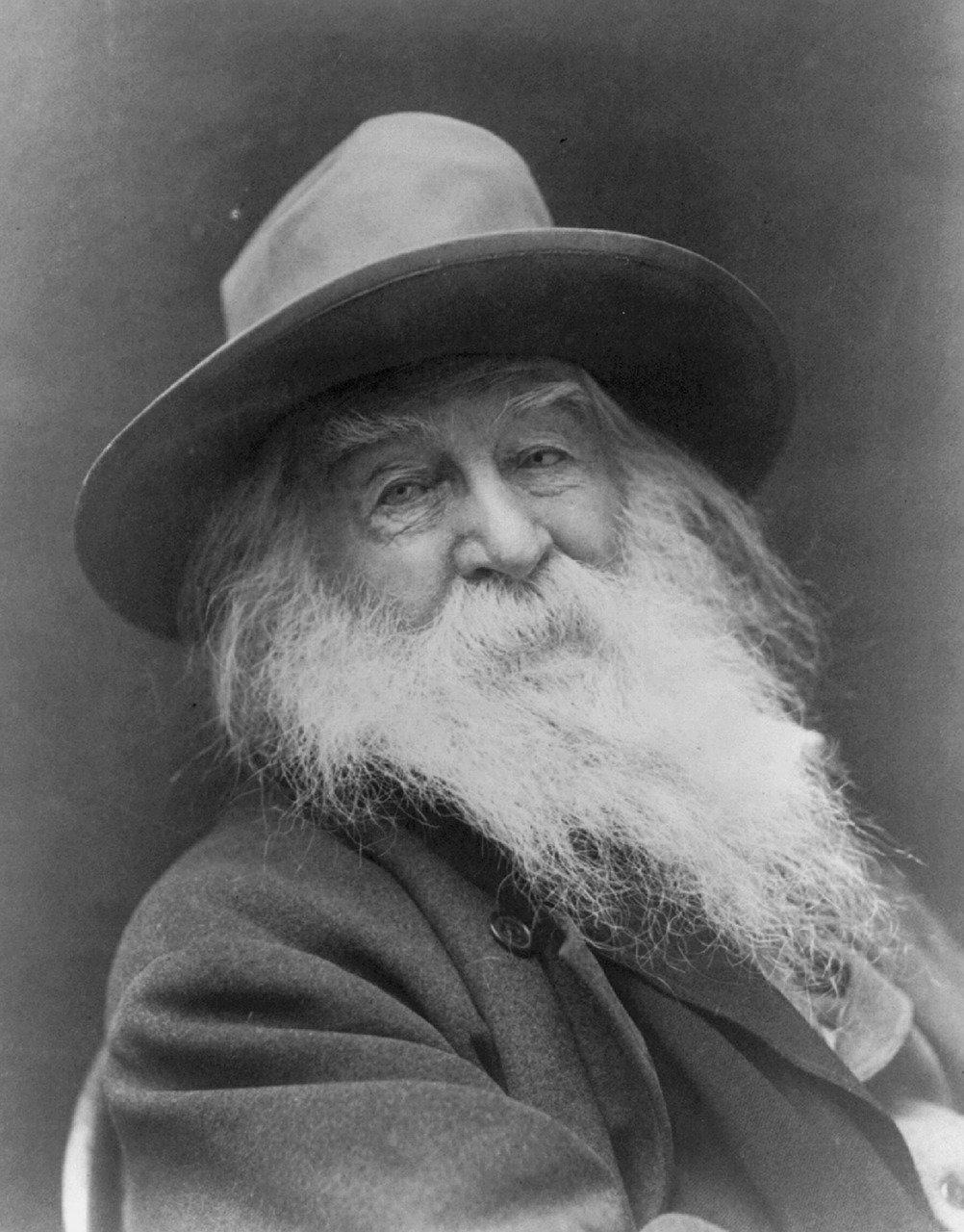 Walt Whitman, poet, transcendentalist
