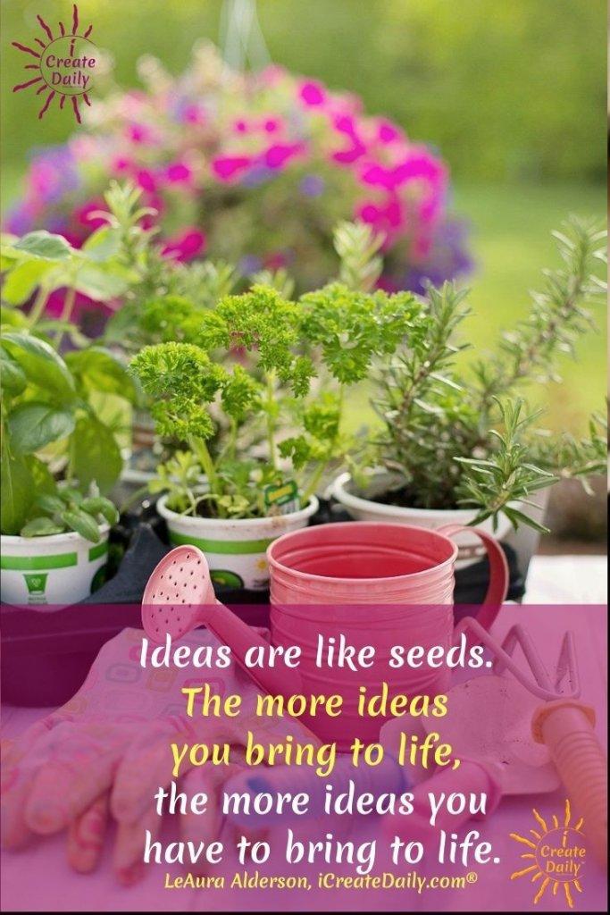#IdeationTools #Action #BringIdeasToLife #Ideation #Ideas #Creativity #CreativeIdeas #iCreateDaily