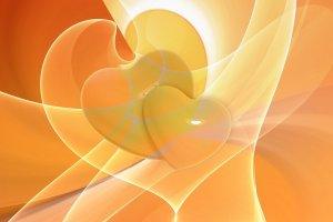 Love yourself, heart art