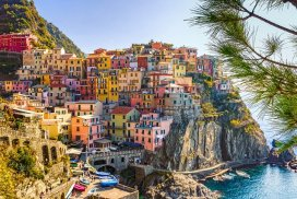 """Colorful Italian Coastal Homes on a Cliff; image by A Difference of Opinion is not an Argument... Unless We Make it One. He likes green, she prefers gold. She loves coffee, he prefers tea. She likes Prius, he loves his truck. He's fond of sports, she'd rather read. All of these are just a difference of opinion and preferences. None are a reason for dislike. And yet many arguments start there... at differences that are seemingly irreconcilable. The Same Thing - Different Names Researchers, psychologists, philosophers, spiritual leaders and anthropologists have all discovered that all humans have the same basic wants and needs. Beyond survival, we all have the same basic need to love and be loved. A difference of opinion is often a matter of conditioning, indoctrination, and exposure to certain culture. Often, differences are simply preferences. What if we leaned into eagerly learning another's perspective, especially when different from ours? Contrasts Art is about about contrasts and the play of color, shadow and light, and it's the same for life. It is the dark that is the backdrop for the stars. The struggles that make us strong for victory, the despair that makes the joys ever so precious... the storms that remind us of the glory of the sun. Differences paint color on the canvas of life. Play with differences of opinion the way you'd play with colors.~LeAura Alderson, cofounder iCreateDaily.com® Open to Adventure Most people like to travel. What travel does for us is engage our sense of adventure and childlike inquiry as we engage in the discovery of new places, people, and experiences. When we travel and engage new experiences, those are external to us though we then internalize the experiences and hold them as memories. What if we viewed a difference of opinion as an opportunity to travel to a new place within..? To a new place of mind, of thinking.. and way of seeing? """"Our challenge is to instill the traveler's mindset into the journey of the day.""""~LeAura Alde"""