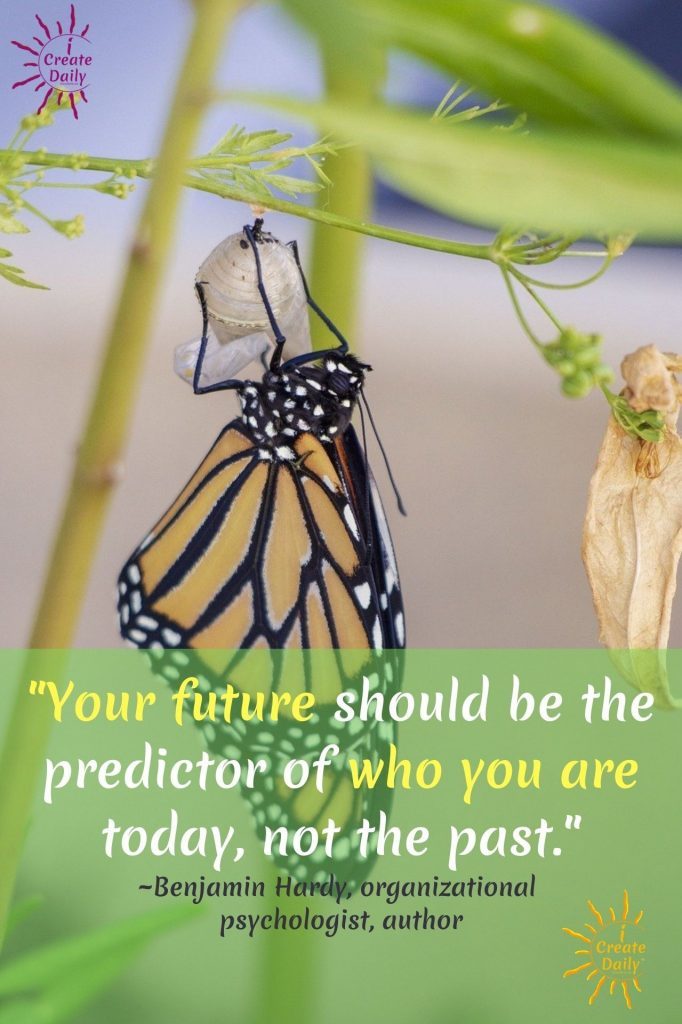 """BENJAMIN HARDY QUOTES:""""Your future should be the predictor of who you are today, not the past.""""#BenjaminHardyQuotes #BenjaminHardy #FutureQuotes #YourFuture#Quotes"""