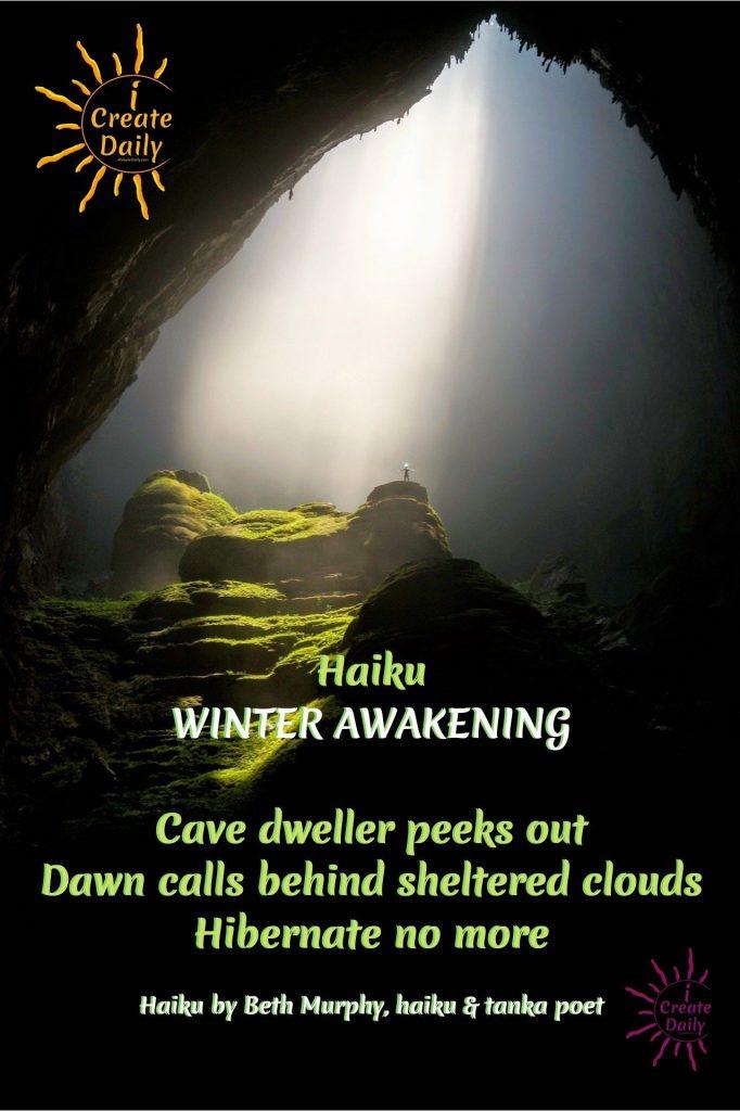 SPRING HAIKU - AWAKENING HAIKU-#SpringHaikuPoem #SpringHaiku #HaikuPoem #SpringPoems #Poetry #HaikuPoetry #iCreateDaily #AwakenPoem