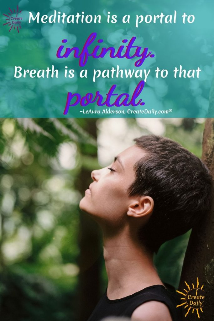 CONSCIOUS BREATHING - Never underestimate the power of your breath to calm or energize, to relax and heal... to create your state.  #ConsciousBreathing #Breathwork #TransformationalBreathing #iCreateDaily