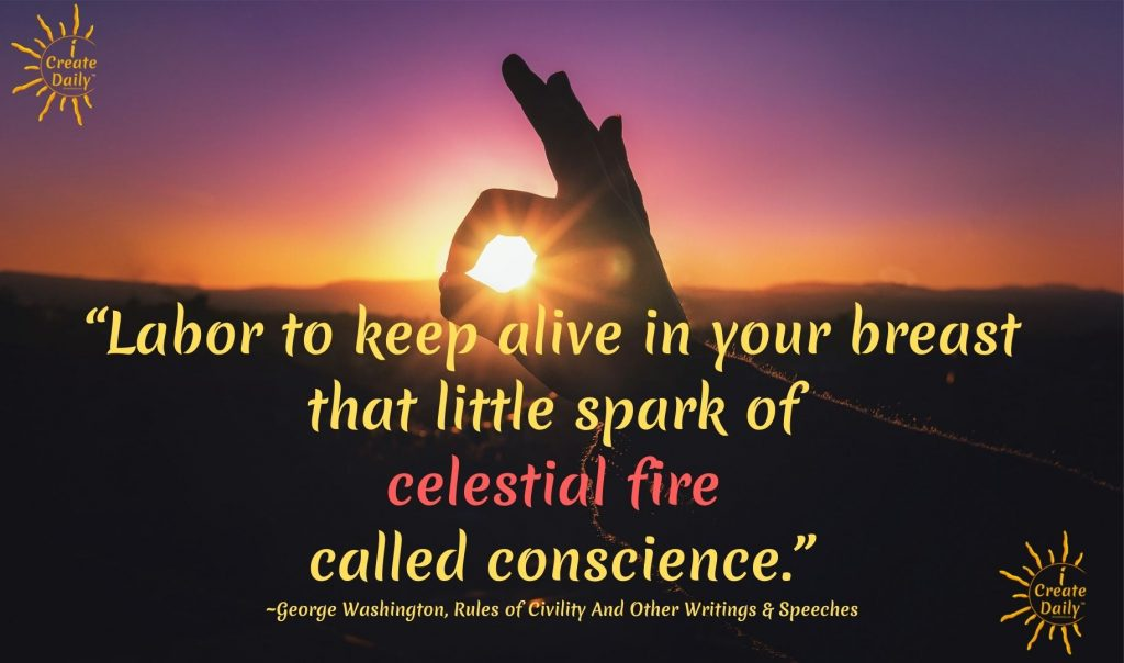 George Washington quote on conscience